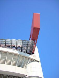 Free Milan Stadium Royalty Free Stock Photography - 3593397