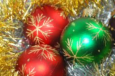 Free Christmas Balls Royalty Free Stock Image - 3593606