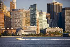 Free Manhattan Skyline Stock Image - 3593821
