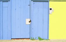 Free The Blue Front Door Stock Photo - 3595090