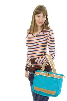 Free Young Woman Shopping Royalty Free Stock Photography - 3596217