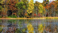 Free Beautiful Autumn Lake Stock Photos - 3596673