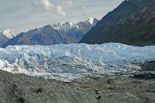 Free Alaskan Glacier Stock Photography - 3597032