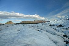 Free Alaskan Glacier Stock Photography - 3597042