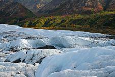 Free Alaskan Glacier Royalty Free Stock Photography - 3597047