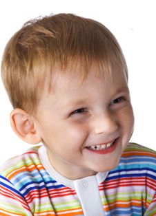 Free Laughing Little Boy Stock Images - 3597824