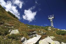 Free Alpine Cableway Royalty Free Stock Photography - 3597867