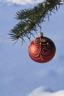 Christmas Tree Decoration 14 Royalty Free Stock Image