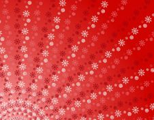 Free Red Snowflake Stripes Pattern Royalty Free Stock Photo - 3598575