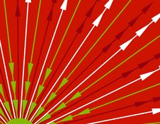 Free Red Xmas Stripes Background Stock Photography - 3598692