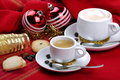 Free Breakfast And Christmas Atmosphere Stock Image - 35905151