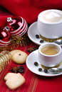 Free Breakfast And Christmas Atmosphere Stock Photography - 35905532