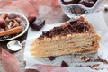 Free Piece Of Layer Cake With Cream Royalty Free Stock Photography - 35905567