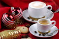 Free Breakfast And Christmas Atmosphere Royalty Free Stock Photography - 35905637