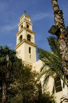 Free Church St. Peter Of Jaffa Stock Photography - 35904042