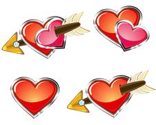 Free Love Icons Stock Photography - 35905102