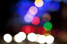 Free Abstract City Lights Stock Photo - 35905470