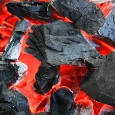 Free Hot Charcoal Texture Royalty Free Stock Photo - 35908515