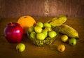 Free Many Kind Of Fruit ,still Life Royalty Free Stock Photos - 35914308