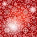 Free Seamless Red Christmas Pattern Royalty Free Stock Image - 35914416