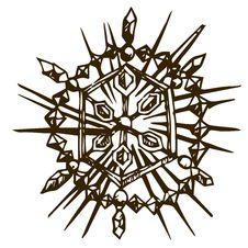 Free Doodle Snowflake Stock Photos - 35912743