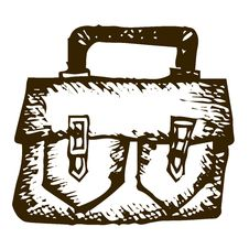 Free Doodle Bag Royalty Free Stock Photography - 35912767