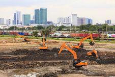 Free Excavator Stock Photo - 35913640