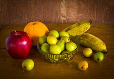 Free Many Kind Of Fruit ,still Life Royalty Free Stock Photos - 35914308