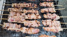 Free Grilled Pork Royalty Free Stock Photo - 35915305