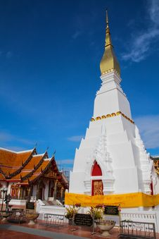 Phra That Choeng Chum Stock Image