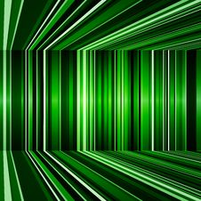 Free Abstract Warped Green Stripes Colorful Background Royalty Free Stock Photos - 35919708