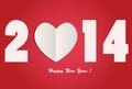 Free I Love 2014 - Happy New Year Stock Photo - 35920850