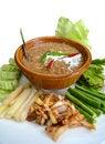 Free Thai Food, Fish With Coconut Milk Sauce Stock Image - 35921751