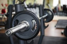 Free Barbell Ready To Workout Royalty Free Stock Photo - 35924305
