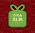 Free Christmas Gift Box Background Design Stock Photos - 35937693