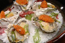 Free Tempura Oysters Royalty Free Stock Photos - 35930718