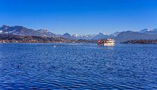 Free Lake Lucerne Royalty Free Stock Image - 35932296