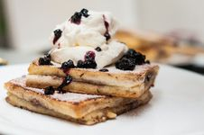 Free French Toast Royalty Free Stock Image - 35933486