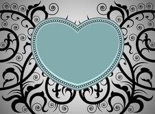Free Heart Shape Tattoo Art Pattern Royalty Free Stock Photos - 35935558