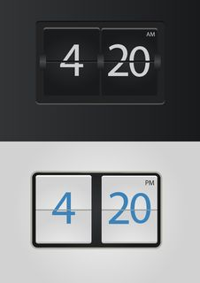 Free Flip Clock Stock Images - 35938784