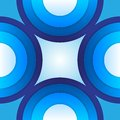 Free Abstract Blue Paper Circles Background Royalty Free Stock Photos - 35942838