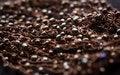 Free Dark Brown Beads Necklace Stock Photos - 35943033
