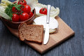 Free Camembert And Vegetables Royalty Free Stock Images - 35943669