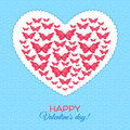 Free Happy Valentine&x27;s Day Card Stock Photography - 35945082