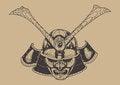 Free Samurai Warrior Stock Photo - 35945670