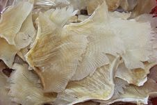 Free Dried White Fish, A Delicacy In Hong Kong, China Stock Photo - 35942190