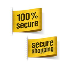 Free 100 Secure Shopping Stock Photo - 35942730