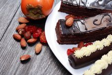 Free Sweets And Fruits Royalty Free Stock Photography - 35943697
