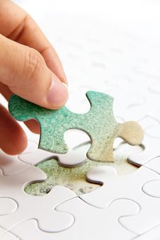 Free Puzzle Piece Concept Stock Photography - 35944292
