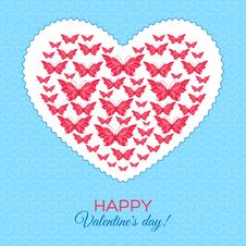 Happy Valentine S Day Card Stock Photography